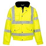 Fast Fashion - Manteau De Sécurité Vêtements De Travail Veste Imperméable Tempête Rainsuit Hi Viz - Mens