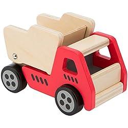 Ultrakidz - Vehículos de construcción de madera, camión volquete