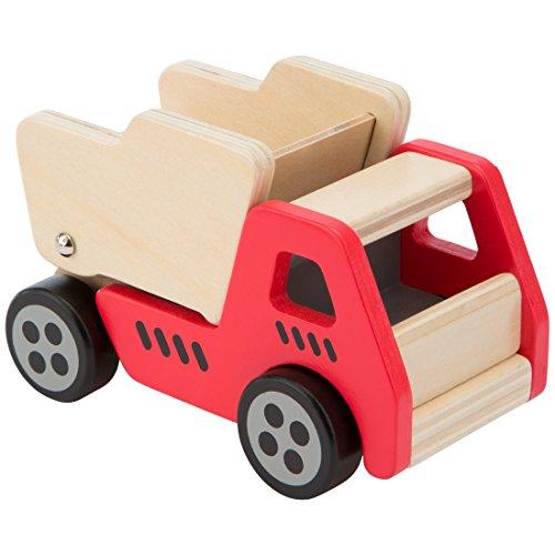 Ultrakidz Baustellenfahrzeug aus Holz, Kipplaster