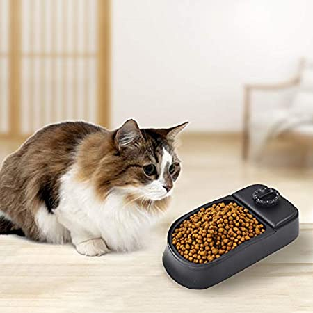 Urijk Futterautomat Automatischer Futterspender Pet Feeder für Hund Katze Haustier