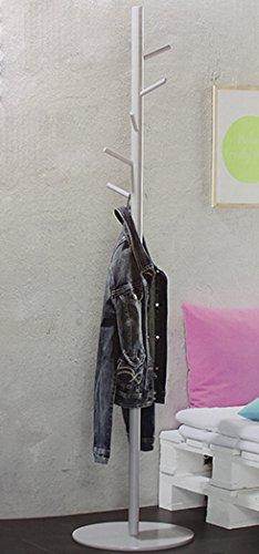 Garderobenständer Garderobe Kleiderständer Kleiderschrank Kleider Ständer Grau