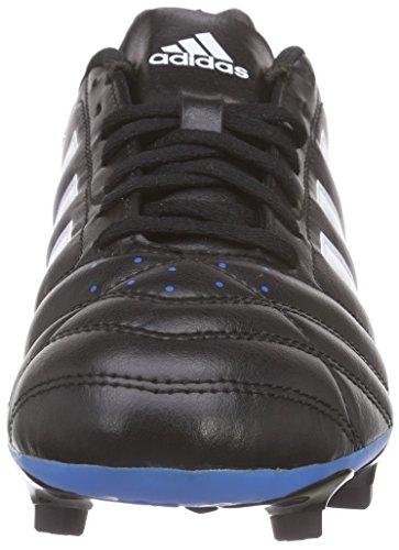 adidas Herren Goletto V FG Fußballschuhe Schwarz (Core Black/Ftwr White/Solar Blue)