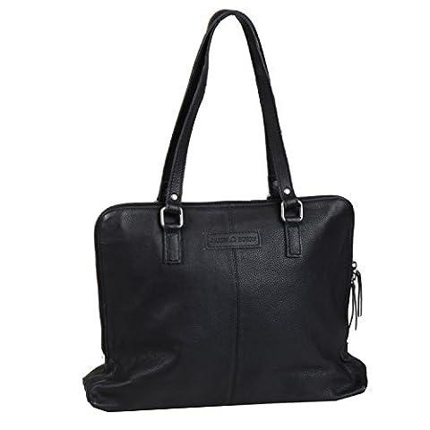Greenburry Boomer Shopper Tasche Leder 40 cm