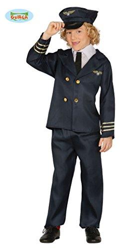 Pilot - Kostüm für Kinder Gr. 110 - 146, (Kostüme Pilot Zubehör)
