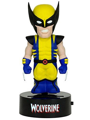 Neca NECA61395 - Marvel - Wolverine Solar Powered Body Knocker Bobble Head Wackelkopf 15 (Body Bag Prop)