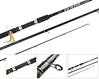 WSB 12ft Carbon Match Float & Coarse Fishing Rod Carbon Black Colour With Bag from Roddarch