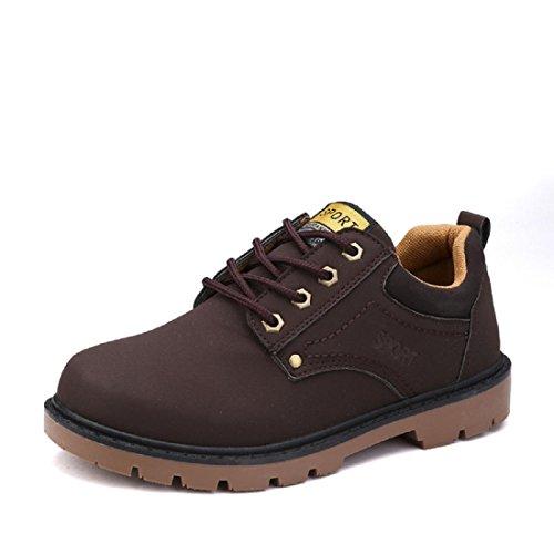 Chaussures Pour Hommes DéSert Bottes De Plein Air Des Sports Bas Pour Aider Les Chaussures Chaussures De RandonnéE Bottes De Martin Grandes Chaussures brown