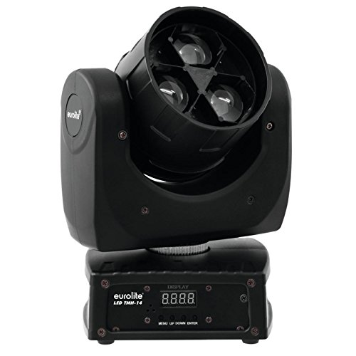 LED TMH-14 Moving-Head QCL Zoom Wash 3 x 12W Test