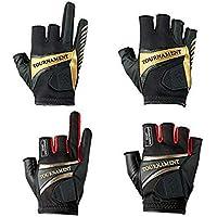 teils ohne Finger speziell f/ür Angeln Orange /& Schwarz aus weichem Neopren Fladen Authentic Wear,/Paar Handschuhe/teils mit
