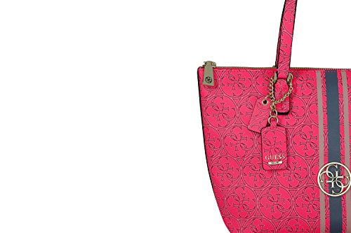 GUESS HERITAGE SPORT SMALL TOTE SG456722 CHERRY