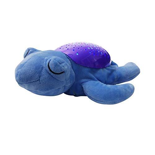 "LED Lampe\""Blaue Schildkröte\"" mit Sternenhimmel"