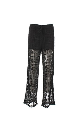 Pantalone Donna Shiki M Nero 16esk26700 Primavera Estate 2016