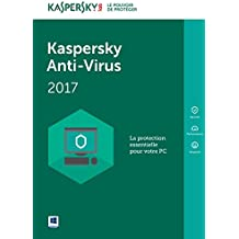 Kaspersky Anti-Virus 2017 - 5 postes - 1 an [Téléchargement PC]