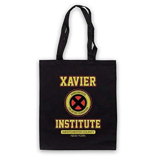 Inspiriert durch X Herren Xavier Institute For Gifted Youngsters Inoffiziell Umhangetaschen Schwarz