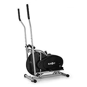 Klarfit Orbifit Basic & Advanced • Crosstrainer • Hometrainer • Ellipsentrainer • Luftwiederstand • höhenverstellbarer Lenker • Stahlrahmen • Softgriffe • Anti-Rutschpedalen • max. 100 kg • schwarz