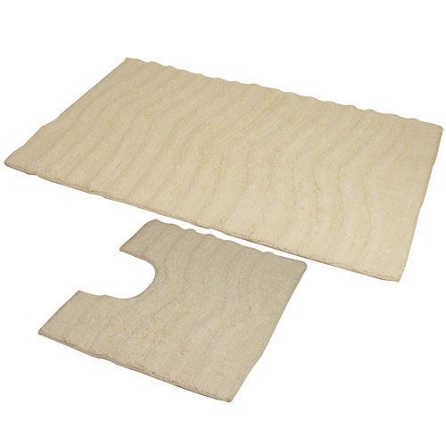 jvl-ripple-zweiteiliges-badvorleger-set-50x80-und-50x40-cm-maschinenwaschbar-creme