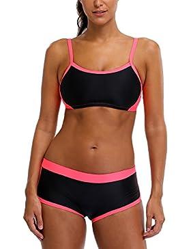 CharmLeaks Damen Sport Bikini Zw