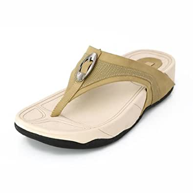 Lord's Women's Fit Flop Beige Slippers Size - 7 -4669F71699