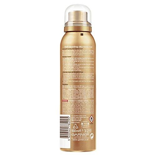 41a76yFxqEL - Garnier Ambre Solaire Self Tan Bronzer Body Mist 150ml
