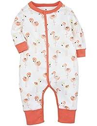 CARETOO Baby Rompers Niños Niñas Pijamas de Algodón Pijamas de Dibujos Animados Mono ...
