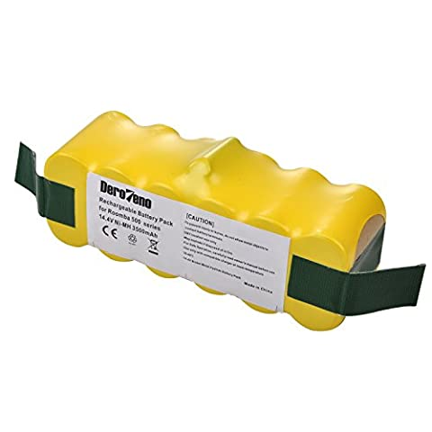 DeroTeno 14.4V 3500mAh Replacement Battery for iRobot Roomba R3 500