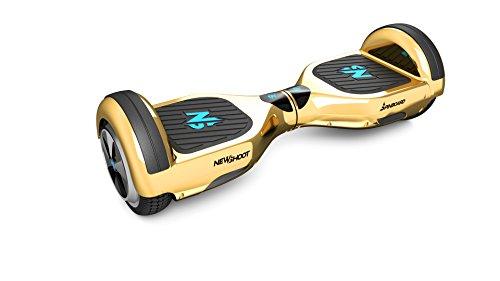 Preisvergleich Produktbild New Shoot Classic Skateboard Elektrische Unisex Erwachsene,  gold