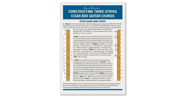 Constructing Three-String Cigar Box Guitar Chords: Amazon.co.uk ...