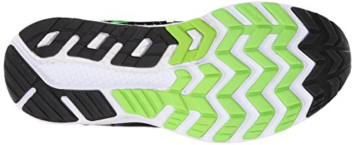 Saucony Hurricane Iso 2, Chaussures de Running Entrainement Homme Argent (Black/Silver/Slime)