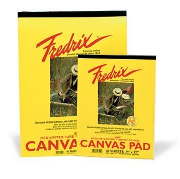 Fredrix Canvas Pad (Fredrix Canvas Pad - 8 x 10in (20.3 x 25.4cm) by Fredrix)