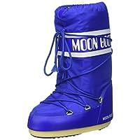 Moon-boot Unisex Adults Nylon Snow Boots, Blue (Blu Elettrico 075), 8/9.5 UK (42/44 EU)