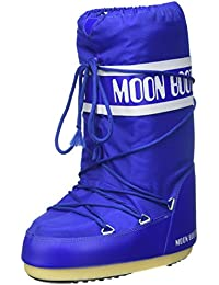 Moon Boot by Tecnica Unisex Boot Nylon Electric Blue, Schuhe Unisex:39/41