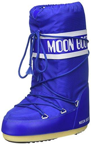 Moon Boot Nylon elecric blue 075 Unisex 39-41 EU Schneestiefel