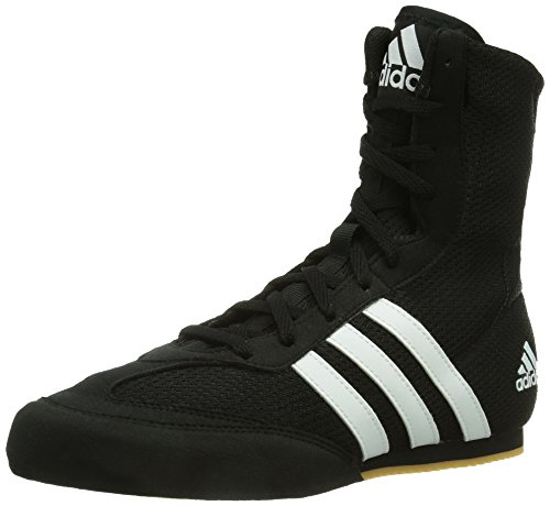Adidas Box Hog, Unisex Adults Boxing Shoes, Black (Black/White), 8 UK (42 EU)