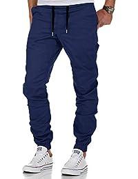 AitosuLa Herren Jogginghose Baumwolle Freizeithose Sport Slim Fit Trainingshose Sweatpants Jogger Pants
