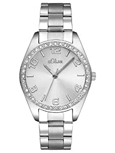 s.Oliver Damen-Armbanduhr Quarz Analog SO-2276-MQ
