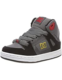 DC Shoes Pure High Top, Zapatillas de Skateboard para Niños