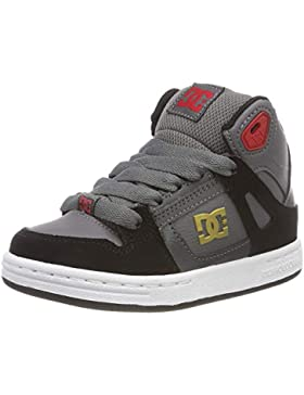 DC Shoes Pure High Top, Zapatillas de Skateboard para Niños