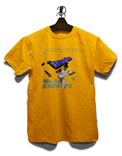 Yie Are Kung Fu T-Shirt Gelb