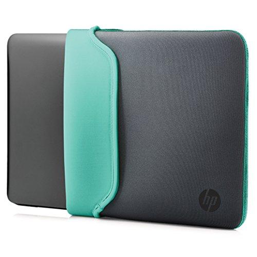 HP Neopren Schutzhülle (29,46 cm / 11,6 Zoll) für Notebooks, Laptops, Tablets in grau/grün