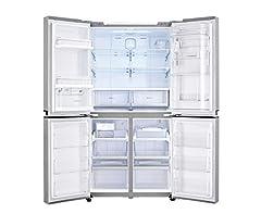 Idea Regalo - LG GMM916NSHV Frigo-Congelatore (Libera installazione, Porta americana, LED, Touch), Acciaio inossidabile
