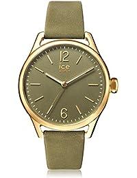 Ice-Watch - ICE time Khaki - Montre verte pour femme avec bracelet en cuir - 013069 (Small)