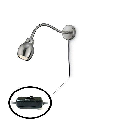 Philips punto / lectura Cromo mate Lámpara / / pared con brazo flexible