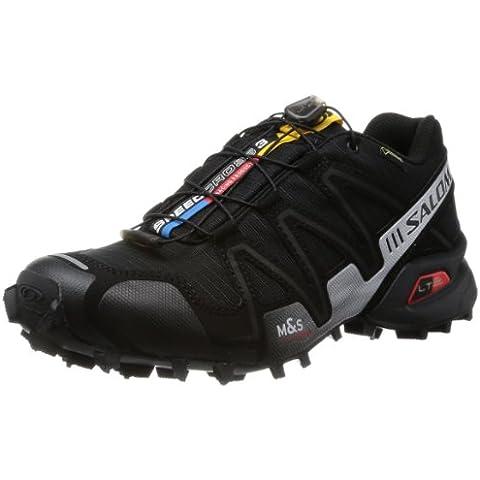 Salomon Speedcross 3 Gtx - Zapatos para hombre, color negro, talla 42