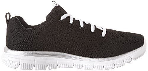 white Black Connected Graceful Sneaker Skechers Nero Donna Get pxBa6FwqS
