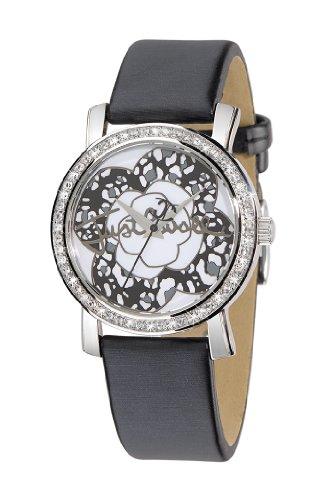 Just Cavalli R7251103745 – Reloj de mujer de cuarzo, correa de piel color negro