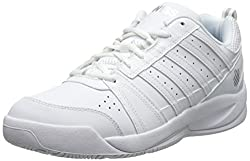 K-Swiss Performance Damen Vendy II Tennisschuhe, Weiß (White/Silver), 39 EU