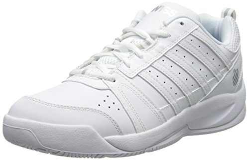 K-Swiss Performance KS TFW VENDY II-WHITE/SILVER-M, Damen Tennisschuhe, Weiß (White/Silver), 38 EU (5 Damen UK)