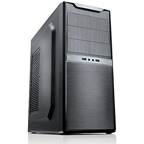 Nox Titan - Caja de ordenador torre ATX, color negro