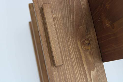 Pareti In Legno Shabby : Porta vino desingn da parete in legno portabottiglie per arredamento