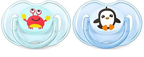philips-avent-klassik-design-schnuller-0-6-monate-scf169-35-krabbe-pinguin-jungen-doppelpack